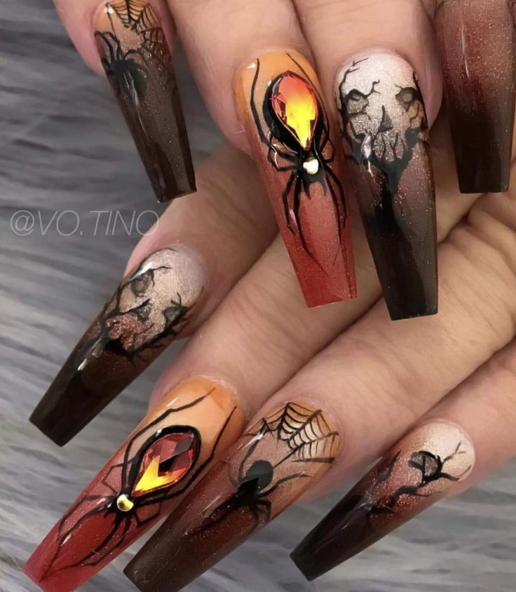 Halloween Nägel – #Halloween # Nägel – Halloween Nägel