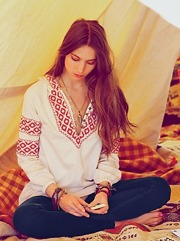 Where do I get one of these embroidered shirts! Remind me of my Polish folk dance/traditional Polish garb! :D