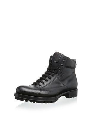 30% OFF Prada Men's High-Top Sneaker (Nero)