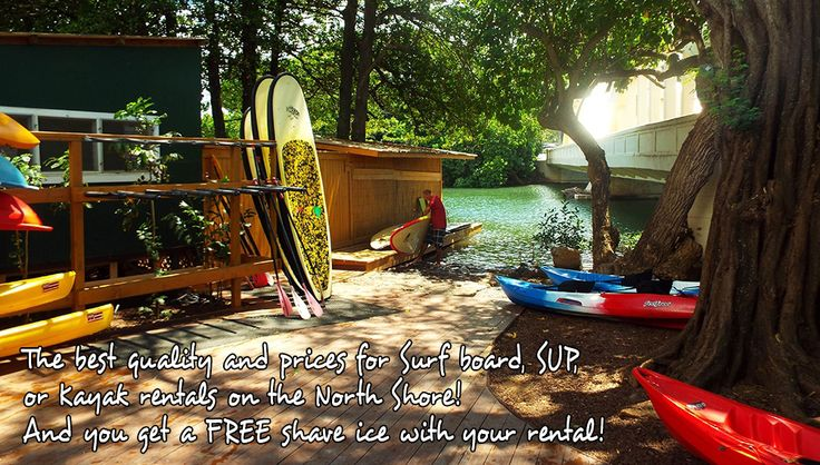 Tropical Rush - Paddle Board Rental on Anahulu River to Haleiwa Beach