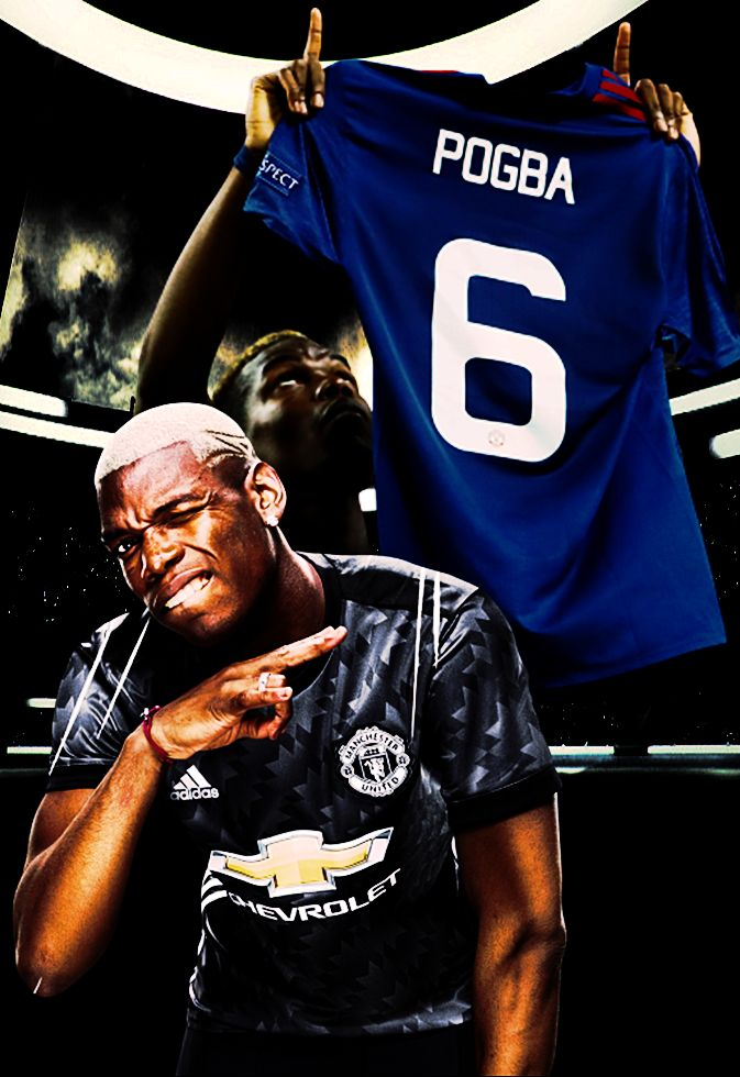 paul Pogba & france & manchester united