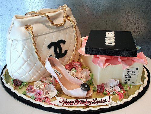 Birthday cake #Chanel