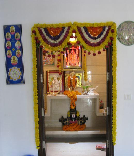Pooja room designs for gudi padwa laks pinterest for Mandir designs living room