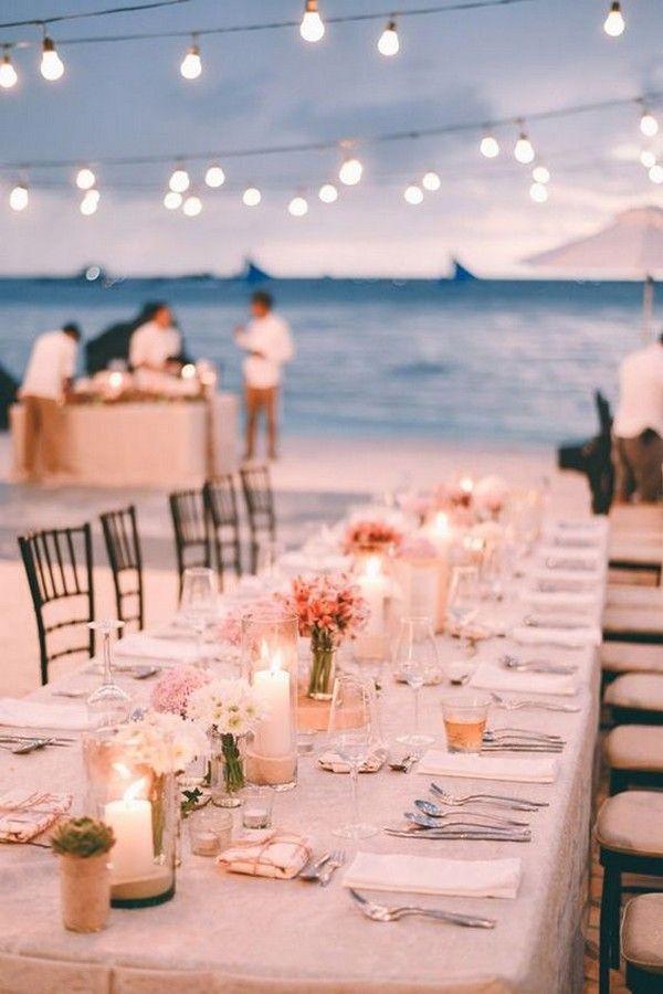 20 Stunning Beach Wedding Reception Ideas For Summer 2019 Beach