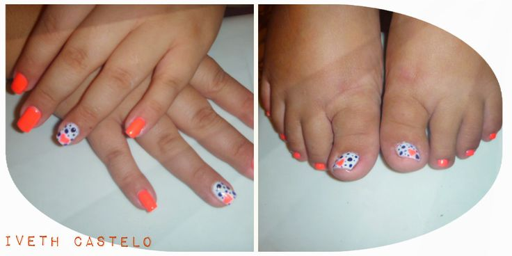 GELISH CON DECORADO :)