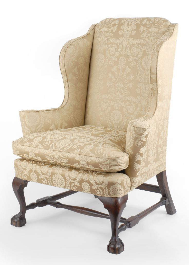 antique wingback chair google search