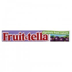 i love and miss black currant fruitella...or any other flavor of fruittella. :)