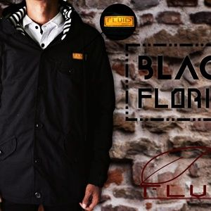 jaket parka canvas fluid