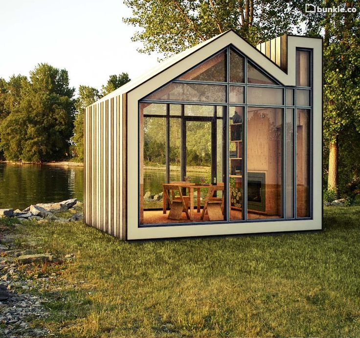 Building That Vacation Cabin In The Woods Can Be So Easy    ---  from InventorSpot.com --- for the coolest new products and wackiest inventions.