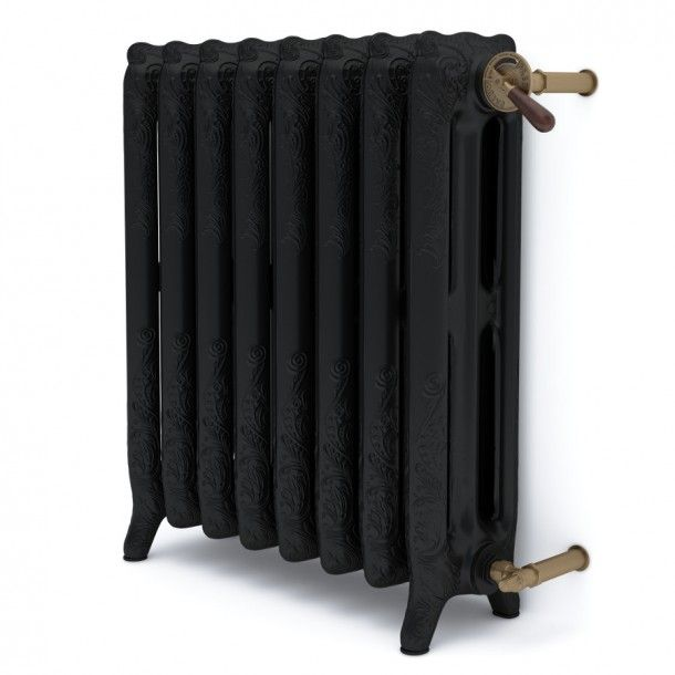Konstancja 2 Iron Black Retro Radiator / Grzejnik eliwny retro  Cast Iron  Radiators