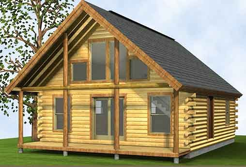 Log cabin kits off the grid pinterest log cabin kits for Small rental house plans