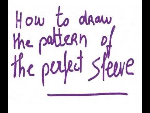 Patternmaking : the pattern for the perfect sleeve