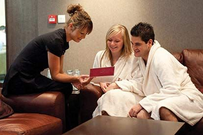 Valentines Spa Day for Two with Three Treatments treat yourself and a friend to three fabulous treatments each including a 25 minute energising facial, 25 minute swedish back, neck and shoulder massage and an eyebrow shape or nail file and polish. y http://www.MightGet.com/january-2017-12/valentines-spa-day-for-two-with-three-treatments.asp