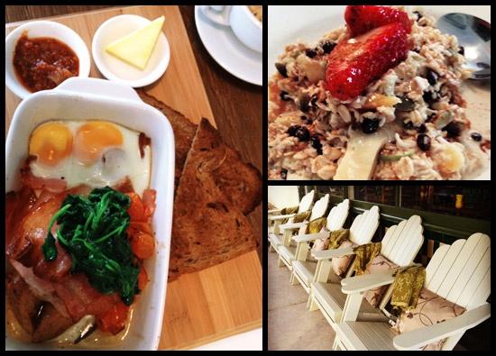 Breakfast at Bungalow 4171 in Hawthorne!