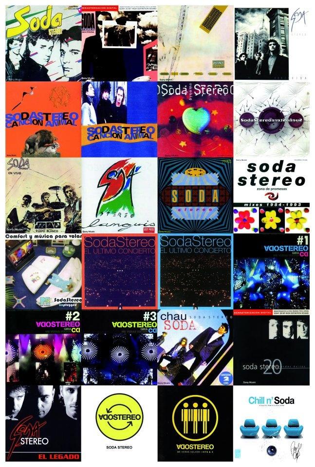 Poster Soda Stereo.