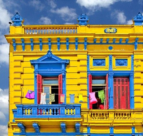 in Buenos Aires from ~ In Living Color tumblr