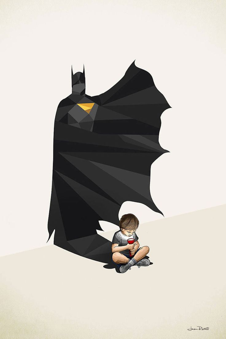 Here are the 13 superheroes lurking in the shadows of a child's imagination.