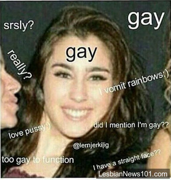 Are Camila and Lauren dating. Haha que no se acabe esto nunca #Camren #MTVHottest Fifth Harmony #Gay #Lesbian LOREN