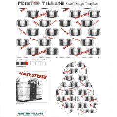 I LOVE Mimmy B Chatterjii's Scarf Design for @PrintedVillage