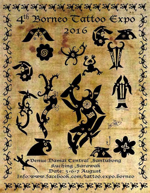 Borneo Tattoo Expo 2016 Kuching Sarawak | Malaysia Asia