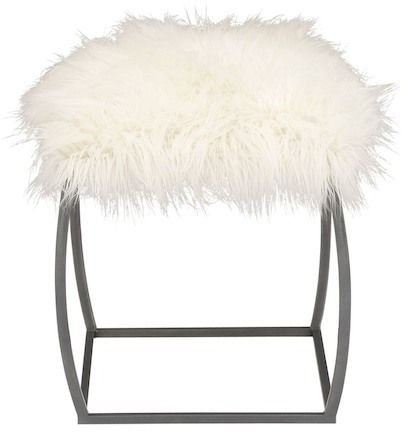Best 25 Faux Fur Stool Ideas On Pinterest