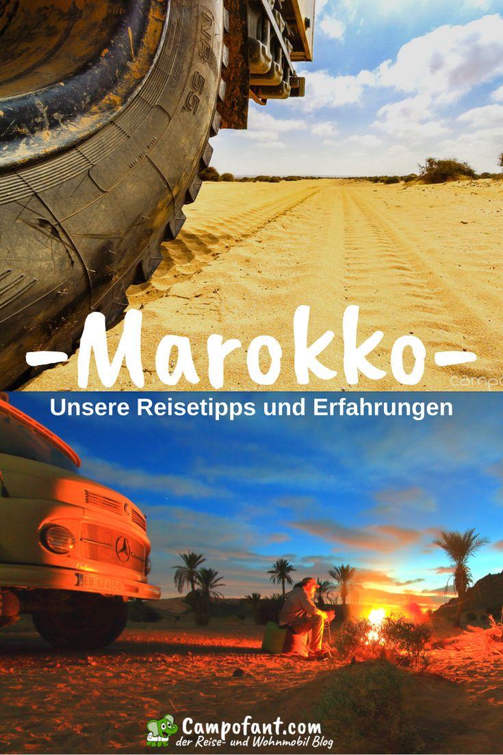 Marokko - ein ideales Reiseland für alle, die Individualurlaub lieben. 3 Monate haben wir mit unserem Wohnmobil Marokko bereist. Eine aufregende Zeit in der wir sehr viel über das Land gelernt haben. Unsere Reisetipps und Erfahrungen für Marokko findest du hier gesammelt. Tipps für das Camping in Marokko sind hier genauso verzeichnet, wie allgemeine Reisetipps für dieses nordafrikanische Land. #marokko #reisen #wohnmobil #camping #reisetipps #erfahrungen