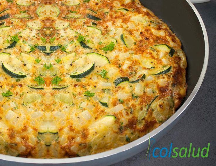 Anímate a preparar esta sencilla y saludable receta de Tortilla de Zapallo Italiano, es tan rica y ligera, perfecta para toda ocasión.