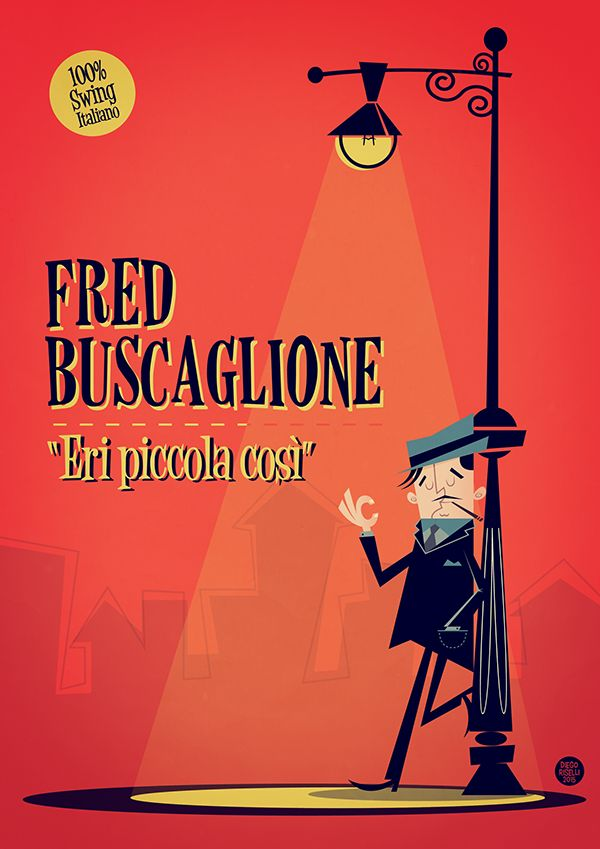 Fred Buscaglione on Behance