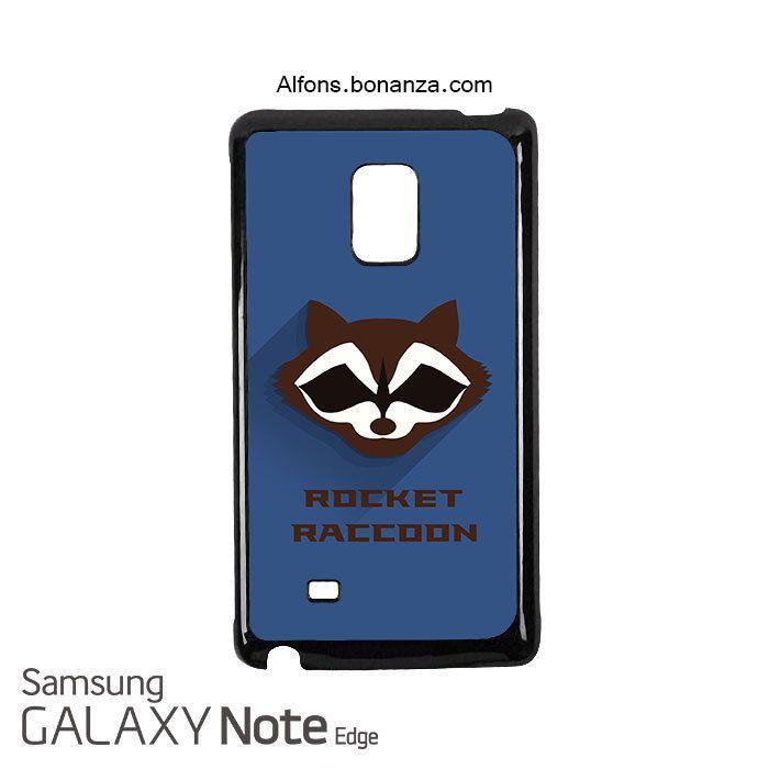 Rocket Raccoon Superhero Samsung Galaxy Note EDGE Case