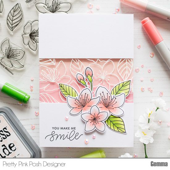 Hello and welcome to my blog! I'm so excited to be joining this blog hop, celebrating the Pretty Pink Posh March release! If you're following along the blog hop, you should have arrived here…