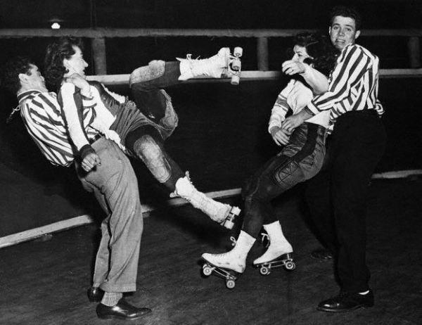 Vintage roller derby bad girls sass on wheels | vintage everyday