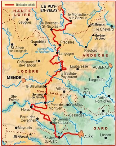 Topo-guide FFRandonnée 700 - Le Chemin de Stevenson