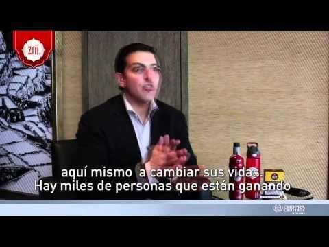 Entrevista a AK Khalil Presidente y COO de Zrii - YouTube