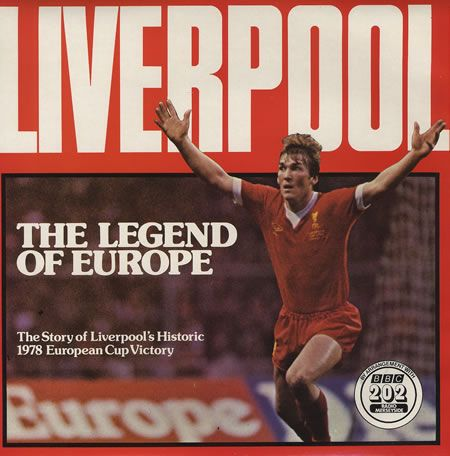 'The Legend of Europe' - Liverpool: European Cups, Liverpool Football, Uk Vinyls, Cups Finals, Album, Vinyl Records, Vintage Vinyls, Rare Vinyls, Vinyls Records