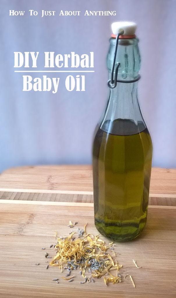 DIY Herbal baby oil - The Herbal Spoon