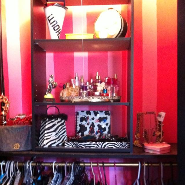 My Victoria's Secret Inspired Closet!