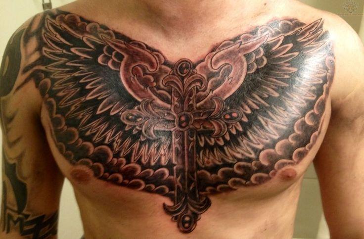 tatuajes originales para hombres cruz