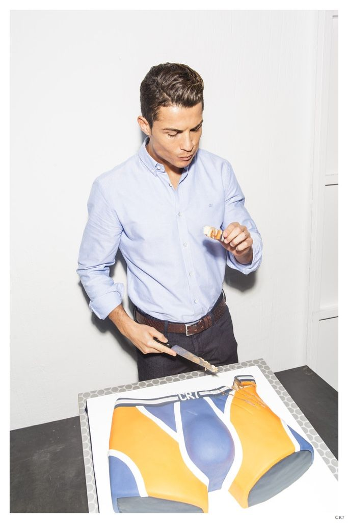 Cristiano Ronaldo Celebrates 1 Year Anniversary for CR7 Underwear
