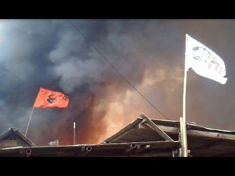 Puluhan Rumah di Basis Pendukung Jokowi Ludes Terbakar
