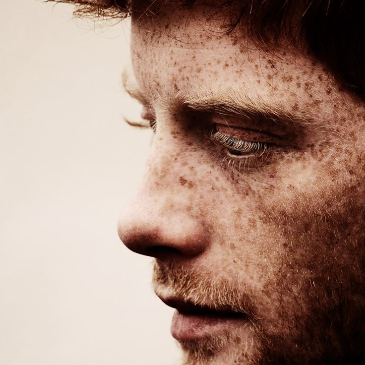 There's not much that's hotter than a man with freckles.