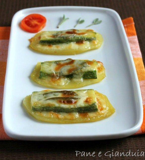Saltimbocca di patate e zucchine | Pane e Gianduia