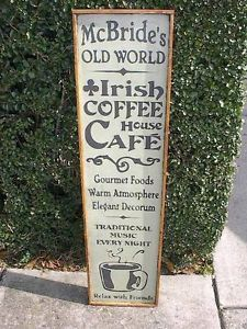 Old World Country Decor | McBride's Old World Irish Coffee House Cafe Rustic Country Decor Wood ...
