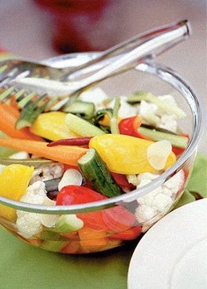 野菜のカラフルピクルス