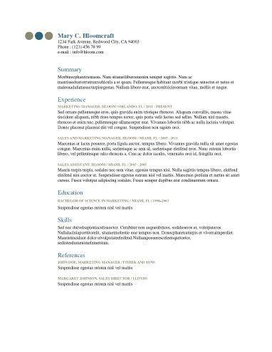 31 best resume format images on pinterest - Best Template For Resume