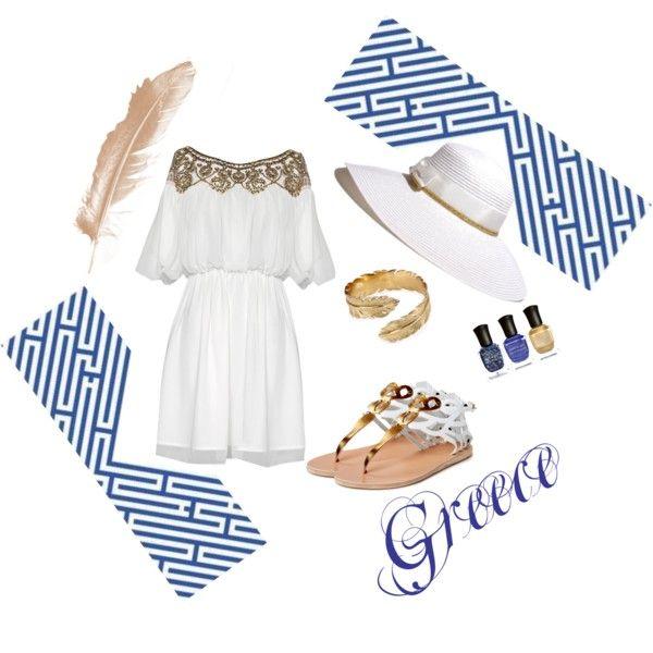 Greece fashion vacation