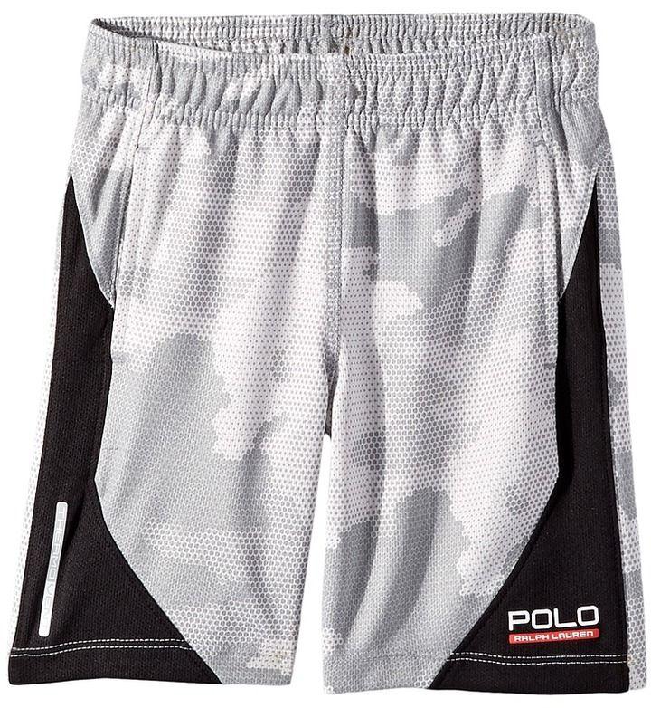 Polo Ralph Lauren Textured Poly Camo Shorts (Toddler)
