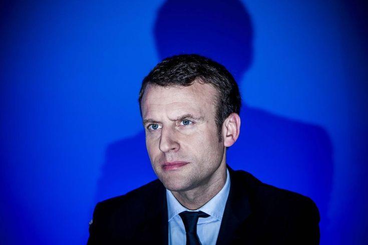Emmanuel Macron: tee-shirt, costard et sortie de route