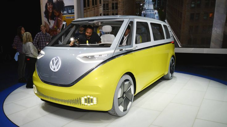 """After 16 years of concepts, teasers, vague promises and more concepts, Volkswagen is believed to be close to greenlighting a retro-styled """"Microbus"""" MPV for production, Automotive News ..."""