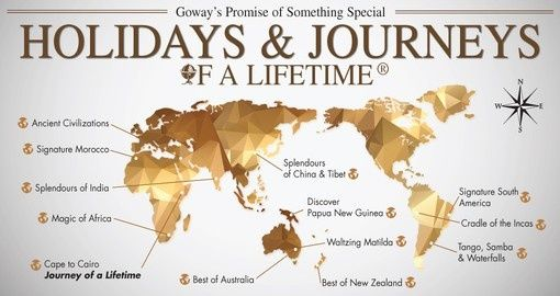 Holidays of a Lifetime - Escorted Touring Experiences