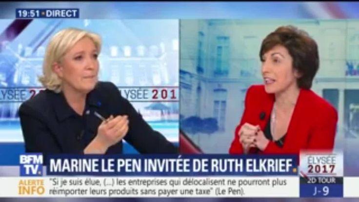 « J'ai le nom de mon Premier ministre et je ne vous le donnerai pas.  En tout cas pas tout de suite », a annoncé ce vendredi 28 avril Marine Le Pen, candidate Front national à l'élection présidentielle, invitée de Ruth Elkrief sur BFMTV. « Les Français le sauront avant le second tour », a-t-elle précisé.